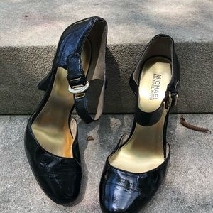 Michael Kors Patent Leather High Heels Size 10